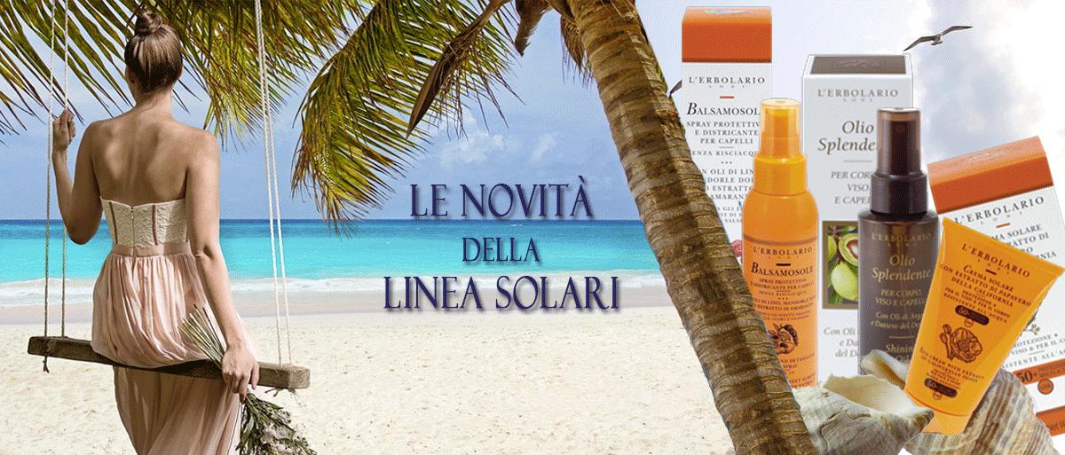 novità linea solari